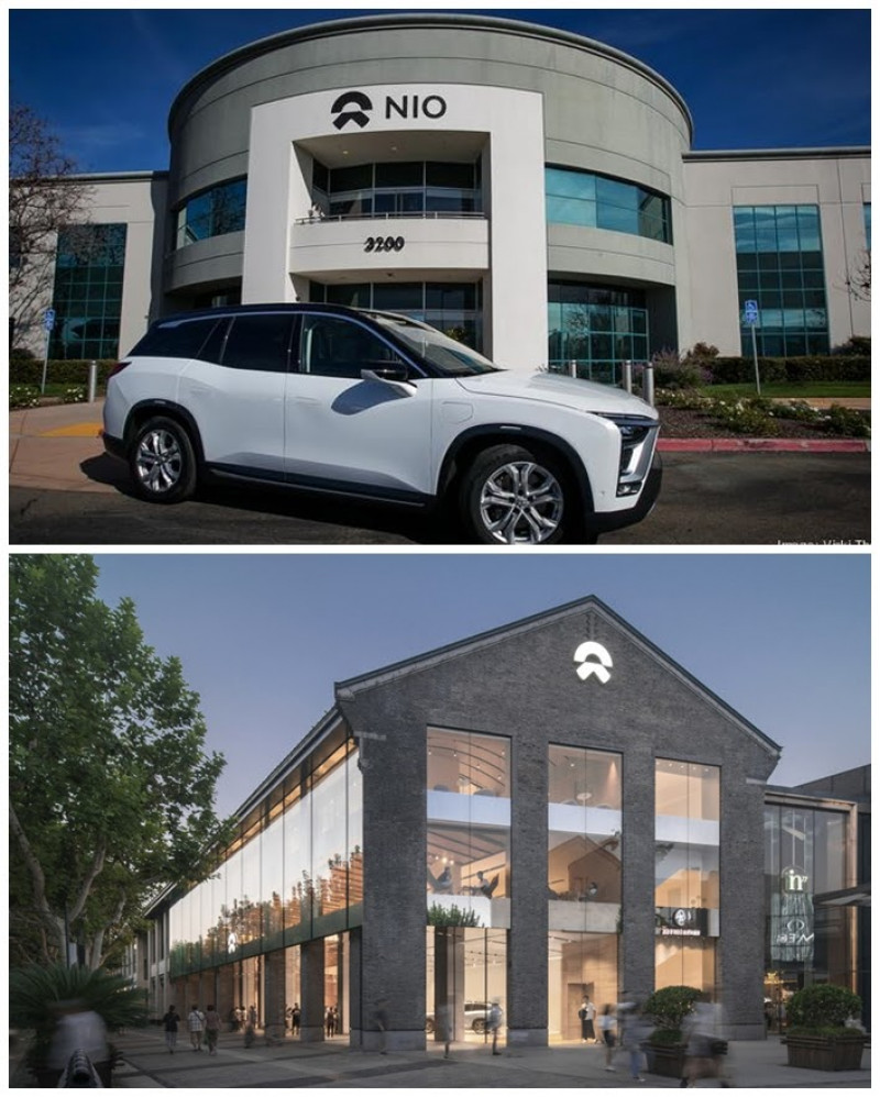 First NIO office and new, contemporary NIO House